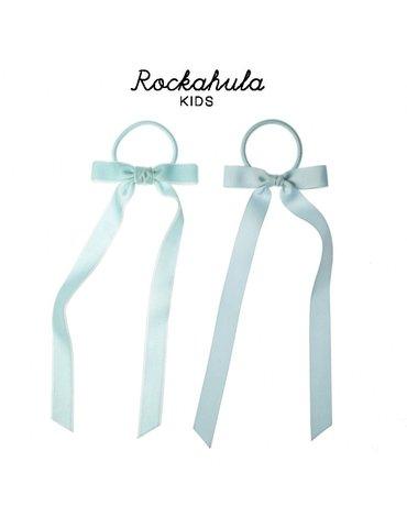 Rockahula Kids - gumki do włosów POLLYANNA VELVET Blue