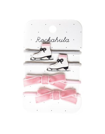 Rockahula Kids - gumki do włosów Ice skate Ponies