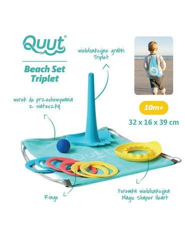 QUUT Set plażowy Triplet + Ringo + Magic Sharpers Sun w worku