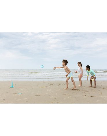 QUUT Set plażowy Triplet + Ringo + Magic Sharpers Sun w worku Quut