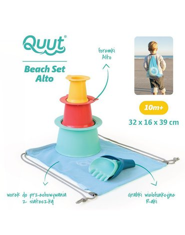 QUUT Set plażowy Alto + Raki w worku