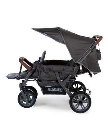 Childhome Wózek trzyosobowy Triplet NEW