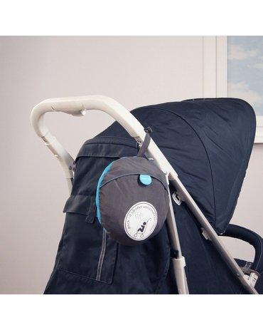 Koo-di - Osłonka przeciwdeszczowa na wózek- szara