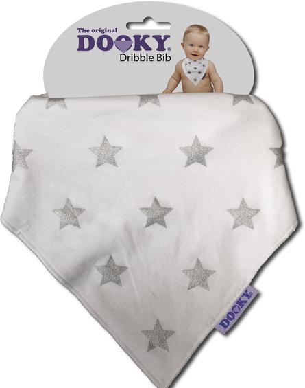Xplorys - Chustka, śliniak, bandamka Dooky - Silver Stars