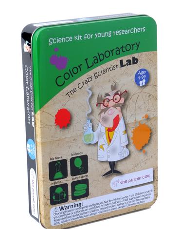 Zestaw do robienia eksperymentów The Purple Cow - Laboratorium kolorów