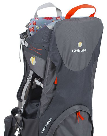 Nosidełko turystyczne LittleLife Cross Country S4 - Grey