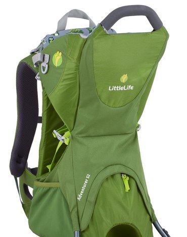 Nosidełko turystyczne LittleLife Adventurer S2 - Green