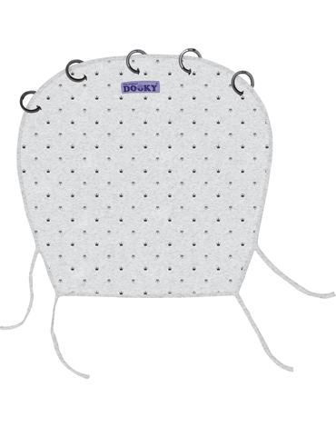 Xplorys - Osłonka do wózka i fotelika Dooky Design Light Grey Crowns