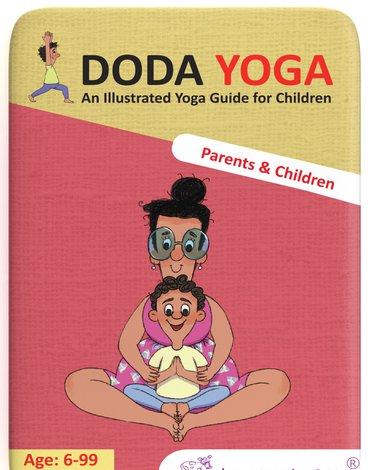 Karty Doda Yoga The Purple Cow - Rodzice i Dzieci wer. ang