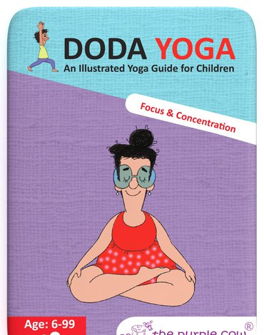 Karty Doda Yoga The Purple Cow - Skupienie i Koncentracja wer. ang