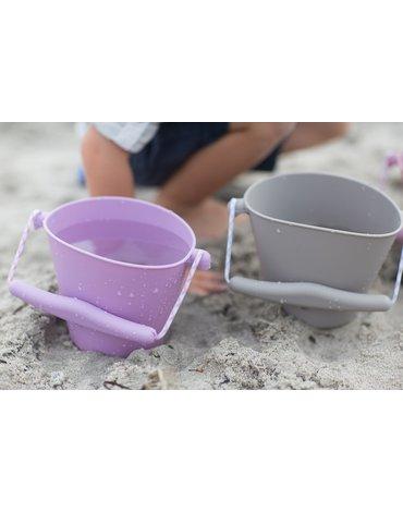 Funkit world - Składane wiaderko do wody i piasku Scrunch Bucket - Szary