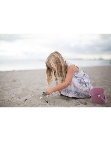Funkit world - Składane wiaderko do wody i piasku Scrunch Bucket - Pudrowy Róż