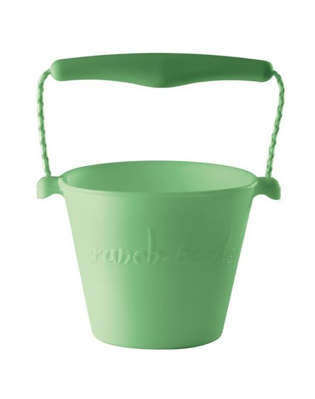 Funkit world - Składane wiaderko do wody i piasku Scrunch Bucket - Pastelowy Zielony