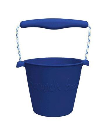 Funkit world - Składane wiaderko do wody i piasku Scrunch Bucket - Granatowy