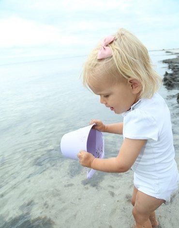 Funkit world - Składane wiaderko do wody i piasku Scrunch Bucket - Czerwony