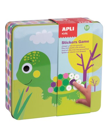 Zestaw kreatywny z naklejkami Apli Kids - Zwierzęta