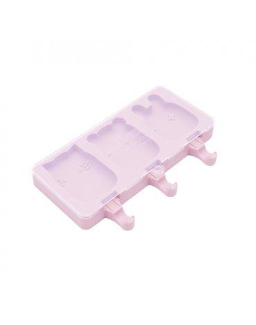 Silikonowe foremki do lodów We Might Be Tiny - Powder Pink