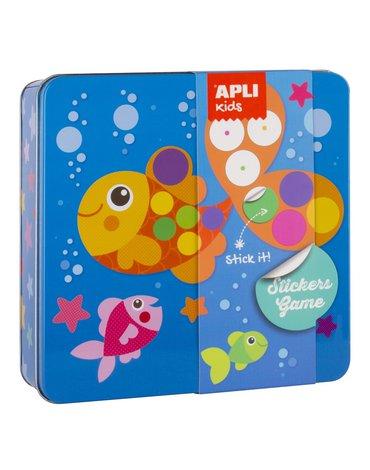 Zestaw kreatywny z naklejkami Apli Kids - Ocean