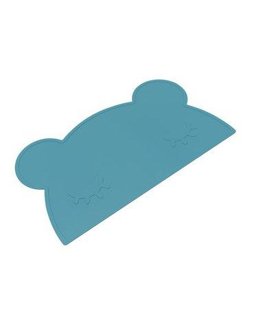 Silikonowa podkładka Miś We Might Be Tiny - Blue Dusk