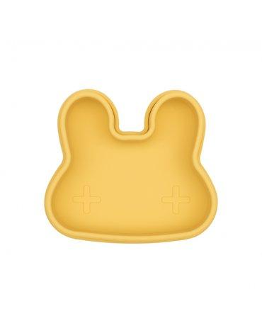 Zamykany silikonowy pojemnik Króliczek We Might Be Tiny - Yellow