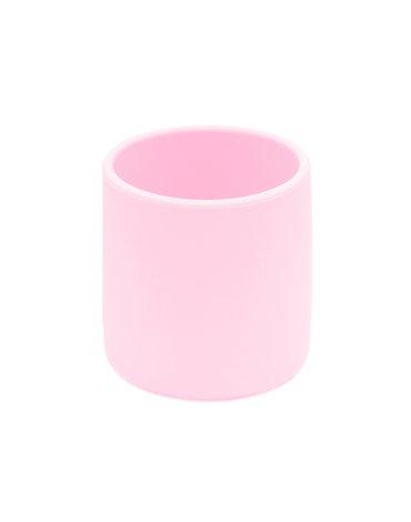 Silikonowy kubek We Might Be Tiny - Powder Pink