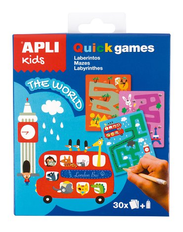 Gra podróżna Apli Kids - Labirynty Świat