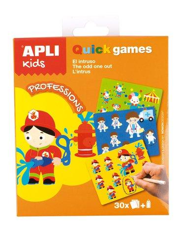 Gra podróżna Apli Kids - Co tu nie pasuje? Zawody