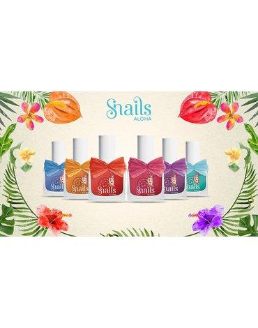 Lakier do paznokci dla dzieci Snails - Aloha Lava