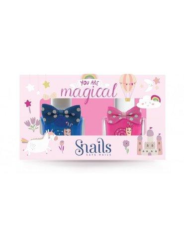 Zestaw lakierów do paznokci dla dzieci Snails Goes Happy - You Are Magical