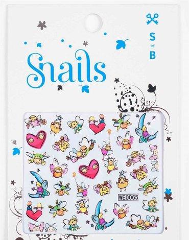 Zestaw do paznokci dla dzieci Snails  - Bookstore