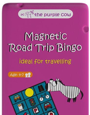 Gra magnetyczna The Purple Cow - Drogowe Bingo