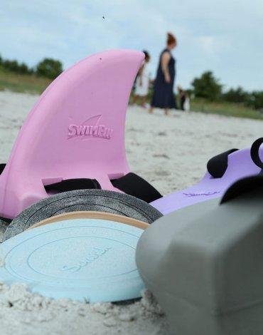 Płetwa SwimFin - Pudrowy róż