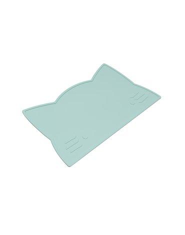 Silikonowa podkładka Kotek We Might Be Tiny - Minty Green