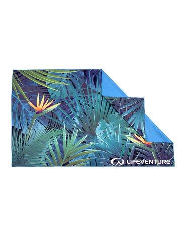 LittleLife - Ręcznik szybkoschnący Soft Fibre Lifeventure - Tropical 150x90 cm