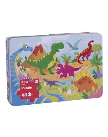 Puzzle XL Apli Kids - Dinozaury 3+