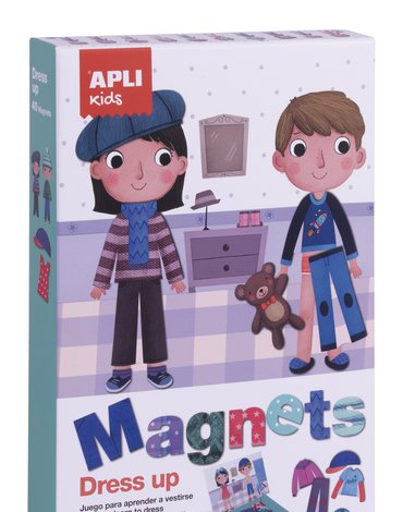 Magnetyczna układanka Apli Kids - Ubieranki