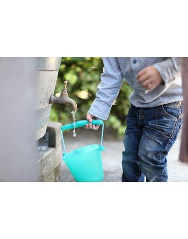Funkit world - Składane wiaderko do wody i piasku Scrunch Bucket - Rust