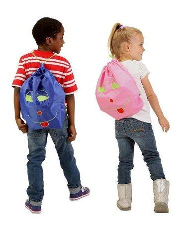 Worek-Plecak Przedszkolaka, niebieski, Potette Plus