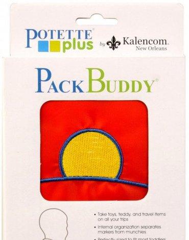 Worek-Plecak Przedszkolaka, czerwony, Potette Plus