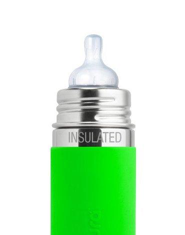Smoczek dla niemowląt Y 2 szt., szybki przepływ (6m+), do butelek, Pura
