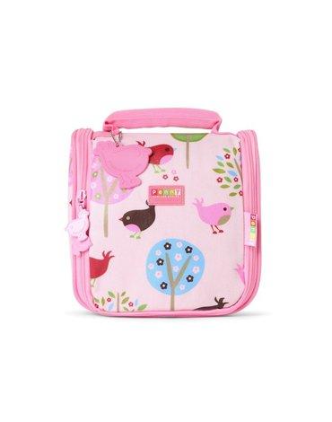 Penny Scallan Design - Kosmetyczka dla malucha, Ptaszki, różowa, Penny Scallan