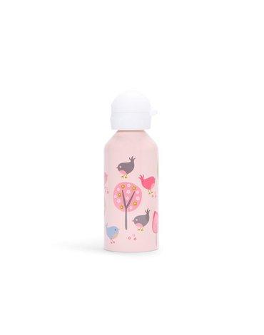 Penny Scallan Design - Bidon 500 ml, Ptaszki, różowy