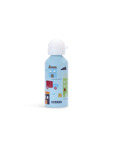 Penny Scallan Design - Bidon 500 ml, Autka, niebieski, Penny Scallan