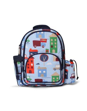 Penny Scallan Design - Plecak z kieszeniami, Autka, niebieski, Penny Scallan