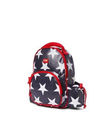 Penny Scallan Design - Plecak z kieszeniami, Gwiazdy, granatowy, Penny Scallan
