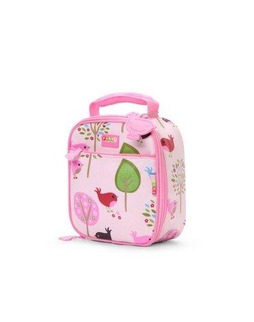 Penny Scallan Design - Lunchbox szkolny, Ptaszki, różowy, Penny Scallan