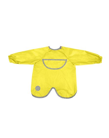 b.box Fartuszek-śliniaczek wodoodporny z rękawami, Lemon Sherbet,