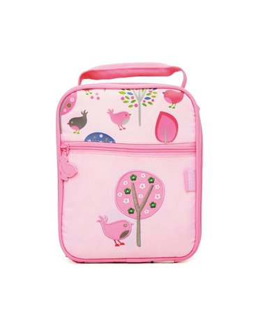Penny Scallan Design - Lunchbox na drugie śniadanie, Ptaszki, różowy, Penny Scallan