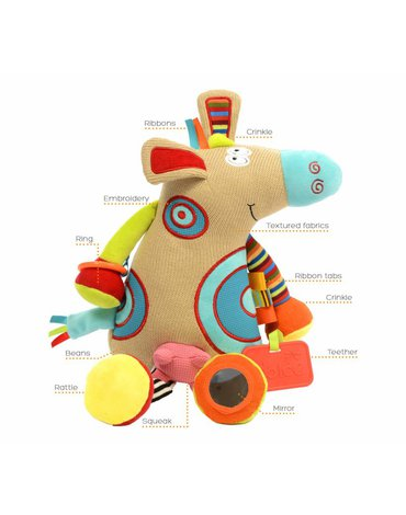 Zabawka sensoryczna Krówka, Dolce
