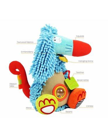 Zabawka sensoryczna Chart Afgański, Dolce